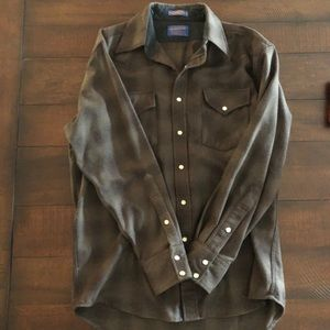 Pendleton Western Snap Button Down